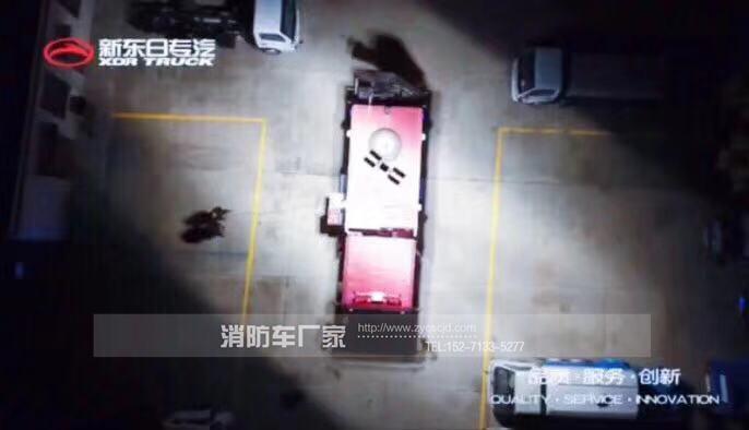 抢险救援消防车照明系统顺利通过测试