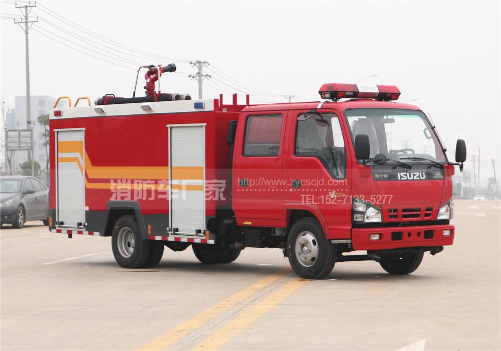水罐消防车多少钱一辆 水罐消防车价格详解