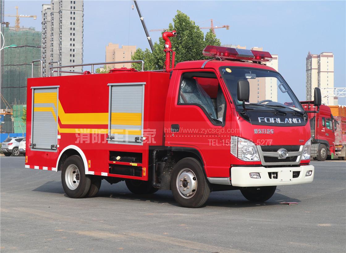 三款农村消防车推荐:参数、配置、价格