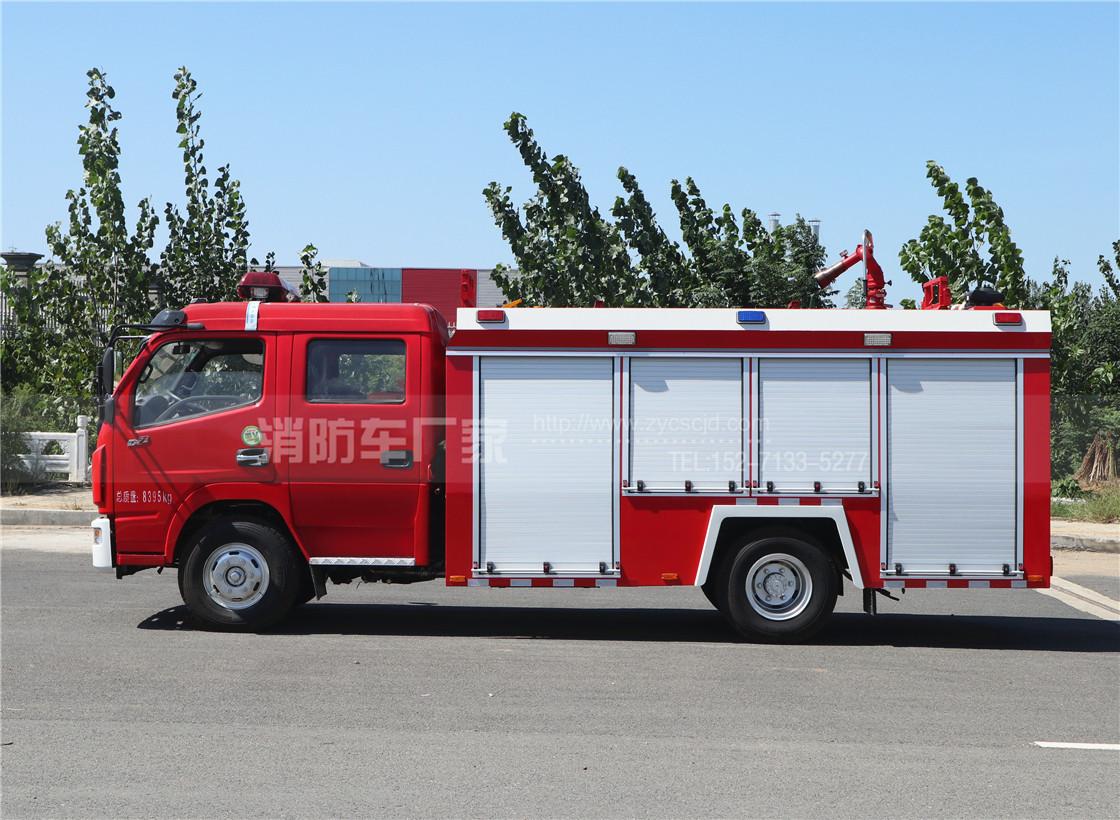 消防车:新车的磨合期的特点 磨合期保养基本原则