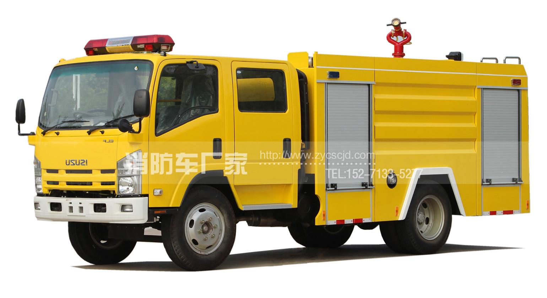 5吨中型水罐消防车【五十铃】
