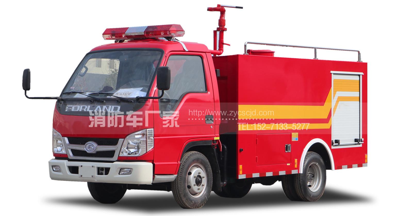 水罐消防车磨合期的特点