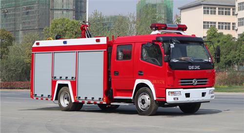 畅销消防车车型价格参数明细