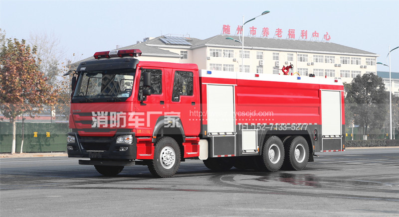 泡沫消防车每周检查、保养的22个项目