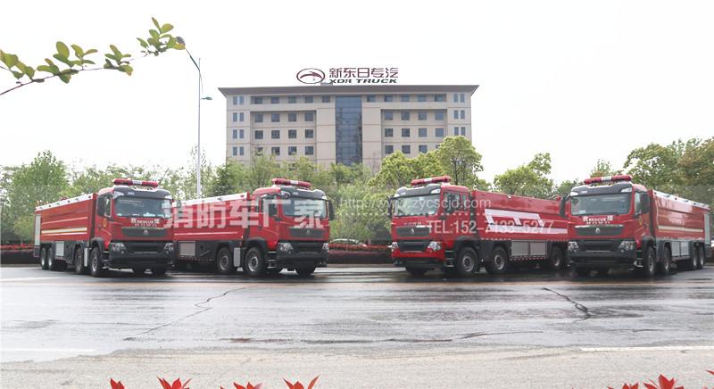 广东佛山消防车用户:订购4台25吨消防车