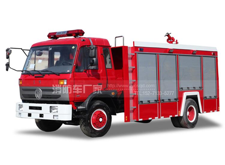 【东风牌】153单排座6吨水罐消防车