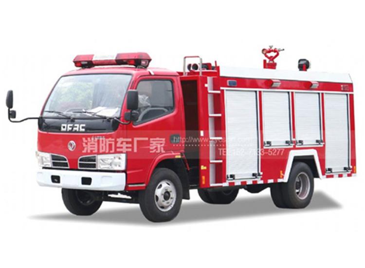 【东风牌】福瑞卡单排座3吨水罐消防车