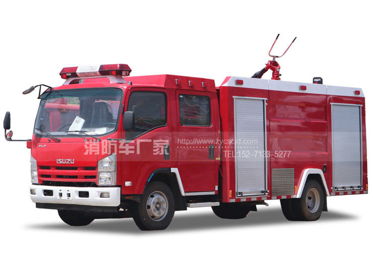 3.5吨水罐消防车【五十铃国五】