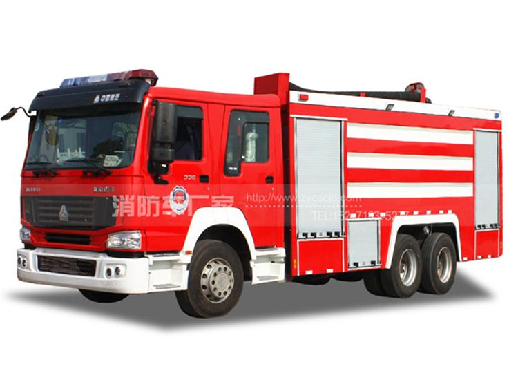 【40万起】重汽12吨水罐消防车